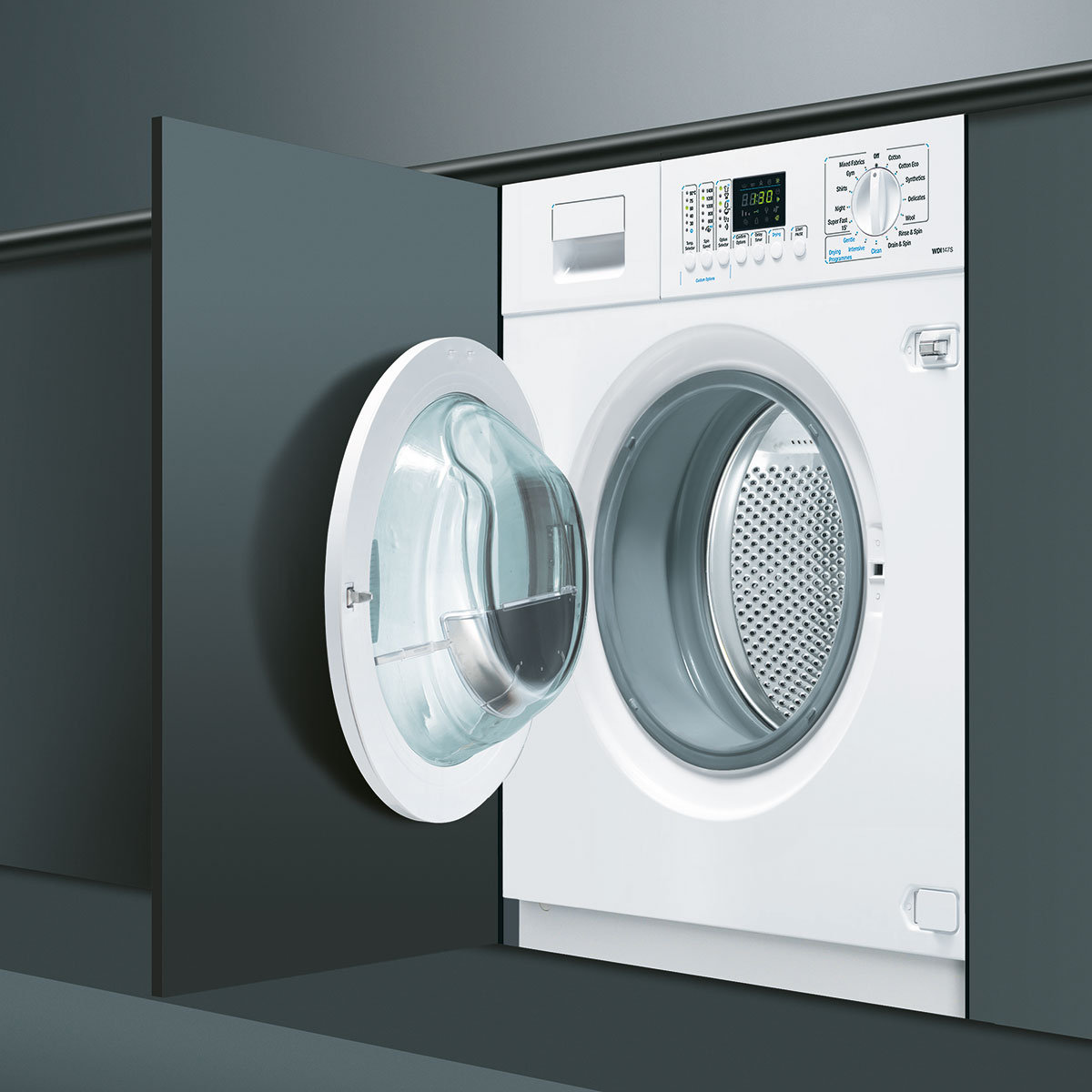 7kg Built In Washer Dryer Baumatic
